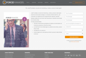 Forcemanager eficiencia comercial