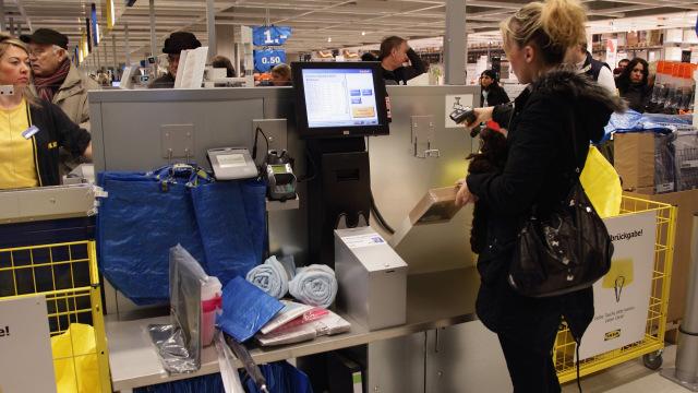 Self checkout en Ikea, la amenaza para las lineas de caja
