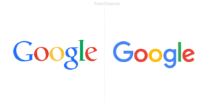 marca smart evolución logotipos google